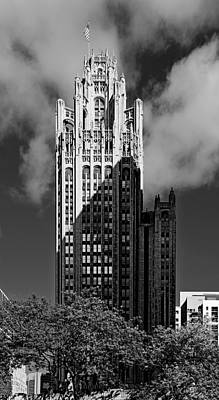 Tribune Tower 435 North Michigan Avenue Chicago Art Print by Christine Till