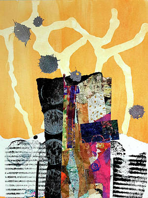 Mixed Media - Tributary by Kate Word