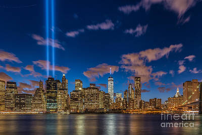 Photograph - Tribute In Lights New York City by Alissa Beth Photography