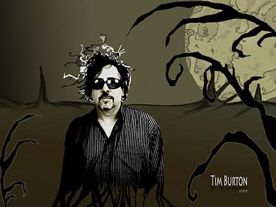 Tribute Art Print by Josh Burns