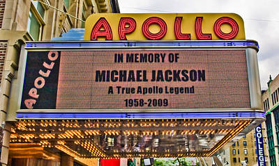 Apollo Theater Photograph - Tribute by June Marie Sobrito