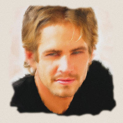 Digital Art - Tribute Paul Walker by Davandra Cribbie