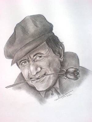 Tribute To A Legend Dev Anand Art Print