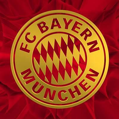 Bayern Digital Art - Tribute To Bayern Munich 2 by Alberto RuiZ