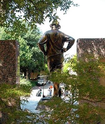 Sports Royalty-Free and Rights-Managed Images - Tribute to Byron Nelson by Jerry Sodorff