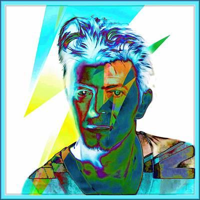 Tribute To David Bowie  Original by Daniel Arrhakis