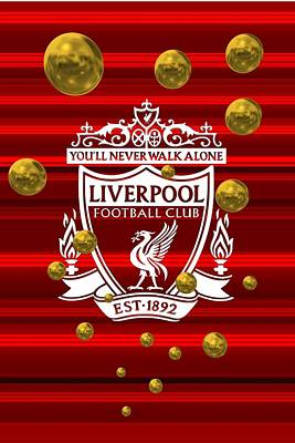 Home Digital Art - Tribute To Liverpool 1 by Alberto RuiZ