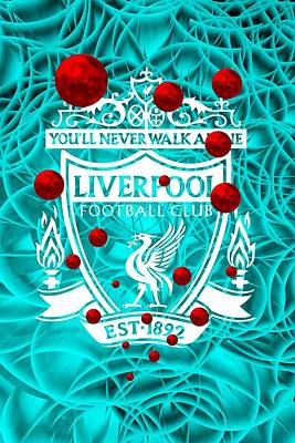 Liverpool Digital Art - Tribute To Liverpool 5 by Alberto RuiZ
