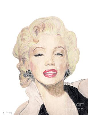 Tribute To Marilyn Monroe Art Print