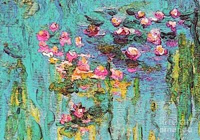 Tribute To Monet II Art Print