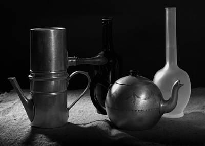 Still Life Photograph - Tribute To Morandi by Proyecto Imagen - Studio Creativo