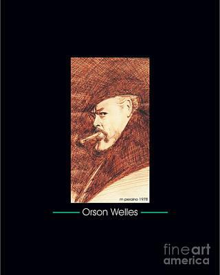 Tribute To Orson Welles Original by Michael Peraino