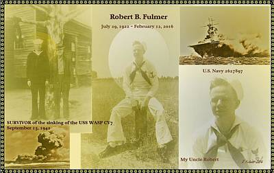 Photograph - Tribute To Robert B. Fulmer by Denise Fulmer