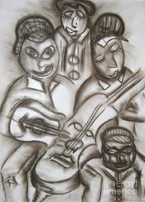 Pastel - Tribute To The String Bass by Isaac Khonjelwayo