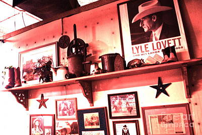 Old Western Photograph - Tribute Wall by Chuck Taylor