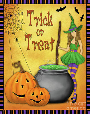 Digital Art - Trick Or Treat-2 by Jean Plout
