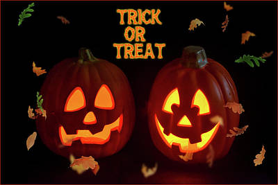 Photograph - Trick Or Treat by Cathy Kovarik