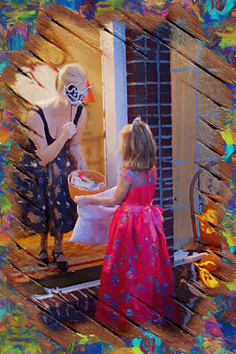 Photograph - Trick Or Treat by Ericamaxine Price