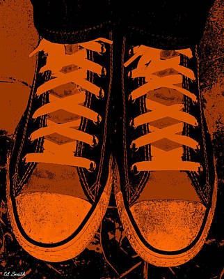 Foot Wear Digital Art - Trick Or Treat Feet by Ed Smith