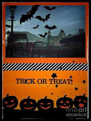 Photograph - Trick Or Treat by Joan-Violet Stretch