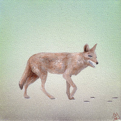 Daniel Wall Painting - Trickster 04 by Daniel Wall