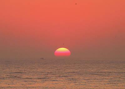 Photograph - Tricolor Sunrise by Robert Banach