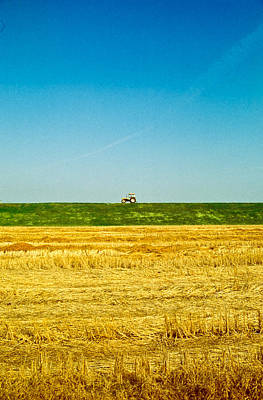 Photograph - Tricolor With Tractor by Roberto Pagani