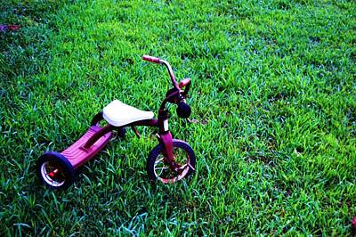 Tricycle Art Print by Beverly Hammond