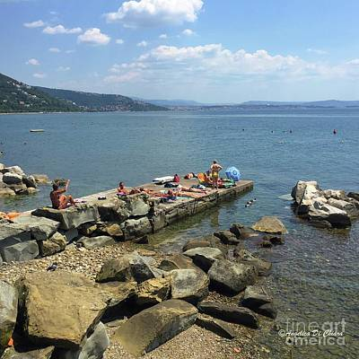 Photograph - Trieste Miramare Beach by Italian Art
