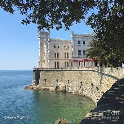 Photograph - Trieste- Miramare Castle by Italian Art