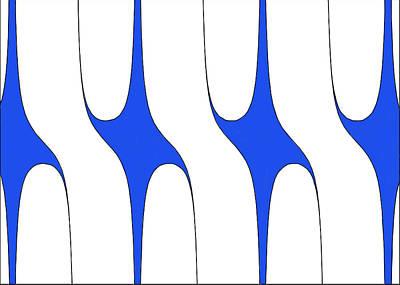 Graphing Digital Art - Trig by Darren Mason