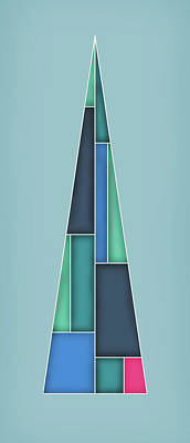 Trigonal Art Print