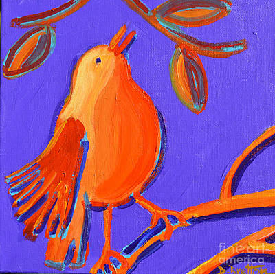 Painting - Trilling by Debra Bretton Robinson