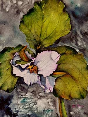 Painting - Trillium by Lil Taylor