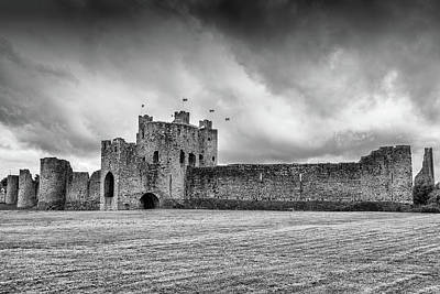 Photograph - Trim Castle , Co.meath by Martina Fagan