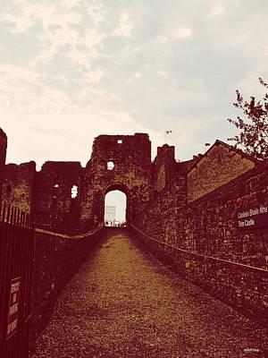 Trim Castle Entrance Print by Martine Murphy