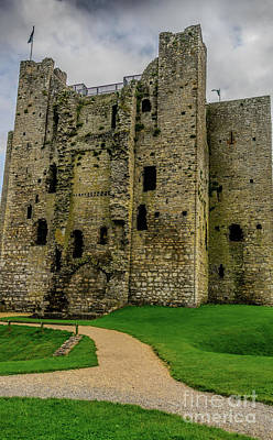 Photograph - Trim Castle Keep by Elvis Vaughn