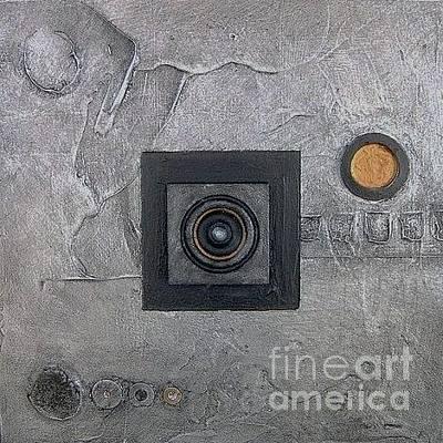 Mixed Media - Trimetal One by Marlene Burns