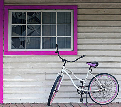 Two Wheeler Photograph - Trimmed In Pink by Christopher McKenzie