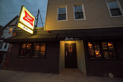 Photograph - Trinas Starlite Lounge Beacon Street Somerville Ma Front by Toby McGuire