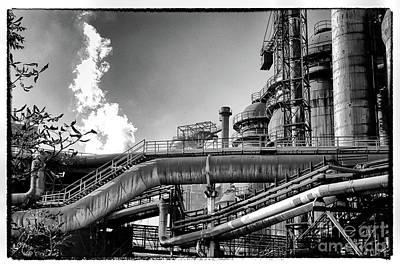 Photograph - Trinec Iron And Steel Works II by Mariola Bitner