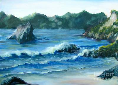 Painting - Trinidad Beach by Patricia Kanzler
