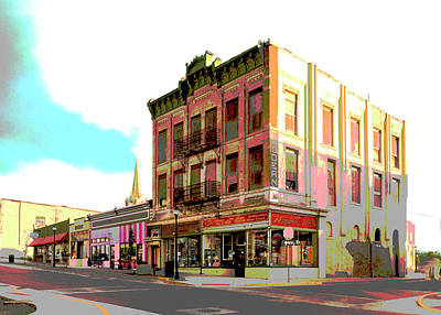 Mixed Media - Trinidad Colorado by Charles Shoup