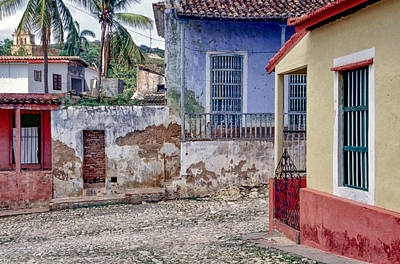 Photograph - Trinidad Cuba Colorful Houses by David Zanzinger