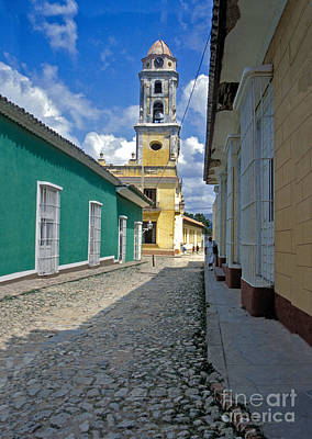 Photograph - Trinidad Cuba Colorful Streets by David Zanzinger