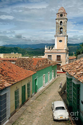 Rooftop Photograph - Trinidad - Cuba by Rod McLean