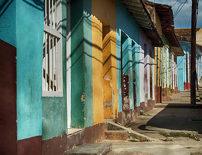 Photograph - Trinidad Facades by Jessica Levant