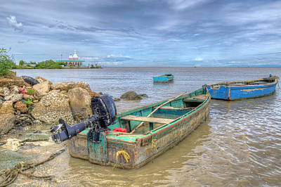 Photograph - Trinidad Fishing Boats 2 by Nadia Sanowar