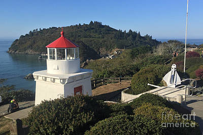 Photograph - Trinidad Head Memorial Lighthouse, California Lighthouse by California Views Mr Pat Hathaway Archives