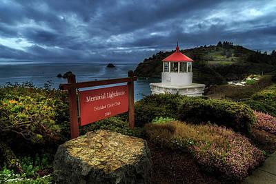 Photograph - Trinidad Memorial Lighthouse by James Eddy